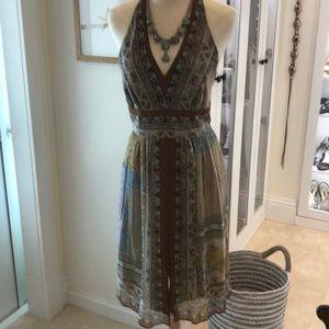 Silk Jones NY sundress, gorgeous floral pattern!